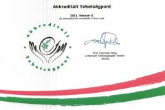 Tehetségpont akkreditáció - Gyöngyösi Oktatásért és Kultúráért Alapítvány