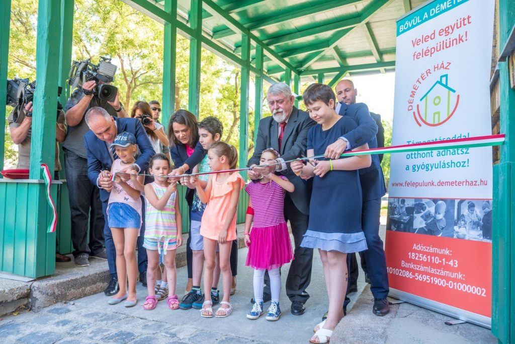 Új épületszárnnyal bővült a Déméter Ház - Gyöngyösi Oktatásért és Kultúráért Alapítvány